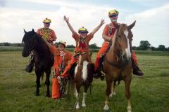 Bohócok és lovak, Illés Nikoleta (12 éves),  Boly  (Boľ), II. kategória