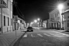 Esti utcakép - Večerná ulica, Eperjessy Adrán, Királyhelmec (Kráľovský Chlmec), IV. kategória