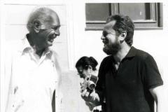Herman Klačko íróval, Csehszlovákia indiai nagykövetével
